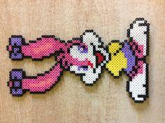 Babs Bunny perler bead by Amanda Collison