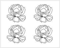 TAGIL ROSE lesson 1 pattern