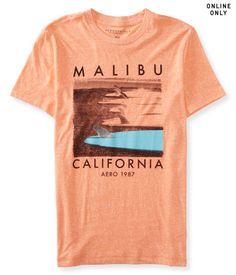 Malibu Longboards Logo Graphic T - Aéropostale®