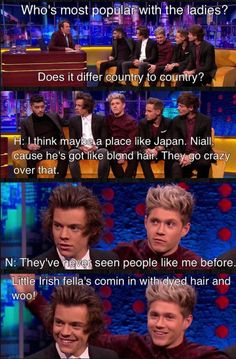 One Direction Funny Interview