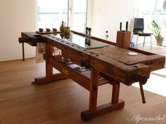 Alpenmöbel Hobelbank-Möbel für Esszimmer und Küche : Tische von Ywona e.U.