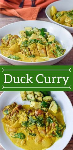 This Breast of #Duck #Curry is so easy! Have leftover roasted duck? Make this and enjoy your duck leftovers! You can also use chicken if you want! #duckbreast #curry #dishesdelishrecipes https://ddel.co/duckcurry via @dishesdelish