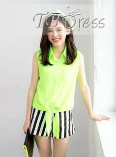 #Joint #Blouses #Pure Top Quality Split Joint Pure Color Chiffon Pearl Shirt