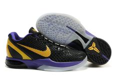 the best attitude 1c794 6d150 Nike Zoom Kobe VI Black Del Sol Purple 436311 071 Kobe 8 Shoes, Kobe Bryant