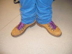 Kathrin Michel (Studentin) schreibt: Neue Schuhe, neue Haltung. Finde ich einfach großartig.