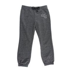 grey sweatpants, Love U pants, joggers for girls