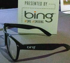 Danny Sullivan scored some vintage looking glasses from Bing at this past week's SMX Advanced conference. For more search in pics from this week, visit: http://selnd.com/13SwVXi #search #bing