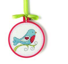 Free cross-stitch pattern!