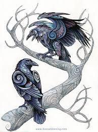Image result for odin's ravens