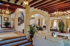 Spanish style homes – Mediterranean Home Decor Hacienda Style Homes, Spanish Style Homes, Spanish House, Spanish Revival, Spanish Colonial, Dream Home Design, My Dream Home, House Design, Spanish Interior