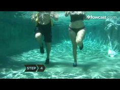 Shallow water core conditioning exercises with Noodle - YouTube