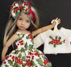 "Dress Sweater Hat Boots Set Made for Effner Little Darling Similar Size 13""Doll   eBay"