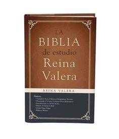Biblia de Estudio Reina Valera 1909
