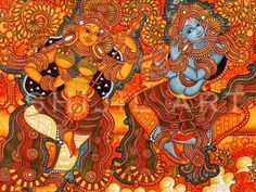 Mural Paintings by shigil Narayanan