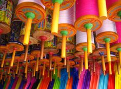 The Kite Festival :: In Gujarat, Uttarayan is celebrated in the middle of January, and signifies the end of winter and the coming of spring. For a week, people from all walks of life, and age be damned, fly kites with abandon, creating patches of every imaginable colour in the blue skies above. Not even night can stop the Kite-flying craze. As soon as the sun sets, illuminated box Kites dot the night sky. Known as tukkals, these kites are often strung together in a line, adding to the beauty ...