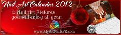 Nail Art Calendar 2012 http://mysticnailspr.com