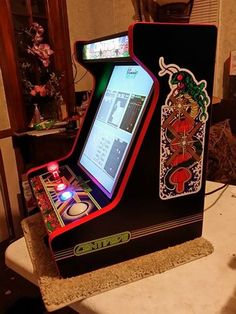 Finished Centipede Bartop Arcade with all the bells & whistles!