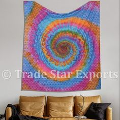 Tapestry Indian Wall Hanging For Wholesale Multicolor Bedsheet Cotton Beach Throw Tie Dye Colorful Tapestry Wall Hanging - Buy Tapestry Indian Wall Art Wholesale Tapestries Bulk Tapestries Wholesale Wholesale Wall Hanging Bulk Wall Hanging Bulk Wall Art,Vintage Tapestry Traditional Wall Hanging Cotton Tapestry Printed Tapestry Tapestry Fabric Ethnic Tapestry Picnic Throw,Cotton Bedspread Multicolor Bedspread Mandala Tapestry Designer Tapestry Wall Hanging Wall Art Wall Decor Home Decor Product o Dorm Tapestry, Tapestry Fabric, Mandala Tapestry, Bohemian Wall Art, Bohemian Tapestry, Traditional Tapestries, Indian Wall Art, Colorful Tapestry, Psychedelic Tapestry