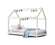Everybody knows the importance of proper sleep for babies. However, they often forget that the bed on which the baby sleeps plays a significant role in the stimulation of sound sleep. Wooden Bed Price, Wooden Bed Frames, House Frame Bed, House Beds, Kids Wooden House, Pine Timber, Single Wooden Beds, Folding Bed Frame, Trundle Bed Frame
