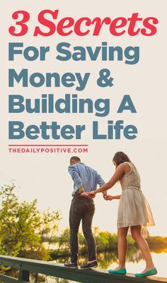 Money is less stress, it's more freedom, it's better health, it's a life of vibrancy, ability and options. And most importantly, money is security. Here are secrets on how to save it and build a better life.