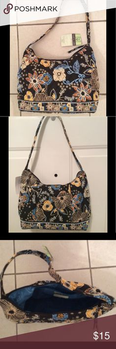 🌺Tanya Lee Floral Quilted Handbag with zipper.NWT 🌺Brand New Floral Print Purse.  Yes, it has it's tags on it and is perfect condition                     This beautiful purse can be used as a shoulder or non shoulder purse as it has a 22 inch strap.  It also has a nice size pocket on the outside that would be good for a phone or keys. The large inside pocket has a zipper. I really like how this handbag closes with a large zipper. Enjoy. Makes a nice gift too. Colors are black background…