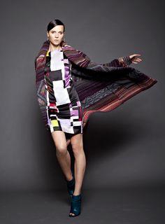 #MyImpulseIs Prints! Mix master #graphicshift #sweatercoat #peeptoe #rachelrachelroy #macys BUY NOW!