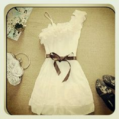 This dress with cowgirl boots ... Love