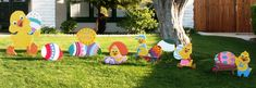Easter Yard Display & Decorations Ideas