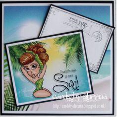 Challenge 364 Winner and Sweet Six Wish You Are Here, Potpourri, Seaside, Balloons, Challenges, Memories, Mermaids, Pirates, Sweet