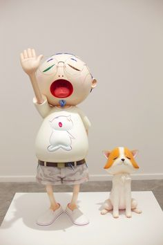 Takashi Murakami at the Qatar Museum