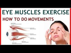 How to Exercise Eye Muscles For Squint, Double Vision to Strengthen Weak...