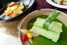 Dadar Gulung Durian is available at Lobby Lounge.. . . .  #sheratongrand #sheratongrandjakarta #indonesiasnack #luxuryhotel