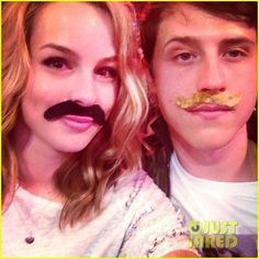 Bridgit Mendler Shane Harper Kids Choice Awards 2013 ❤ liked on Polyvore