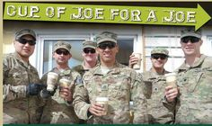Cup of Joe for the Troops