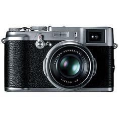 ooh! Looks magical! Fuji FinePix X100 Digital Camera. $1200