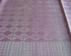 Tutti-Frutti Handwoven Silk Scarf magenta edge
