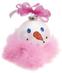 DecoArt® Snow Girl in Pink