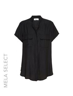Mela Purdie Stockists Brisbane, Window Coverings, Custom Made Furniture and Interior Decorators Brisbane Short Sleeves, Short Sleeve Dresses, Collar Blouse, Mandarin Collar, Cropped Pants, Style Inspiration, Clothes For Women, How To Wear, Tops