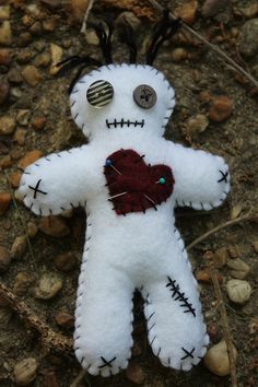 Hey, I found this really awesome Etsy listing at https://www.etsy.com/listing/233950005/handmade-felt-primitive-style-boogie-man