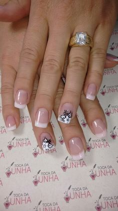 Uñas Square Nail Designs, New Nail Designs, French Tip Nail Art, Square Nails, Bling Nails, Nail Artist, Toe Nails, Nail Care, Pretty Nails