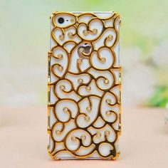 Palace Pattern Rhinestone Hollow Iphone Case for only $9.90 ,cheap Creative Iphone Cases - Iphone Accessories online shopping,Palace Pattern Rhinestone Hollow Iphone Case is shining and useful.You will love it.