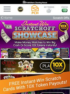 Instant cash sweepstakes home
