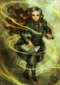 Harry Potter fan art by Daekazu