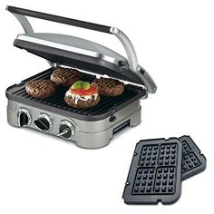 Cuisinart 5-in-1 Grill Griddler Panini Maker Bundle with Waffle Attachment (GR-4N) – Includes Grill and Waffle Plates review