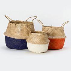 Sea Grass Basket http://www.shopterrain.com/baskets/sea-grass-basket