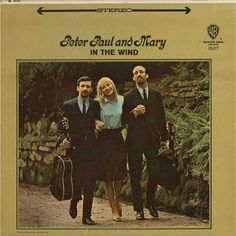 Peter Paul and Mary In The Wind – Knick Knack Records