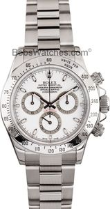 Rolex Daytona Stainless Steel at Bob's Watches - 100% Rolex