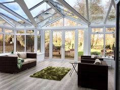 Work complete on our bespoke t-shape conservatory home extension project
