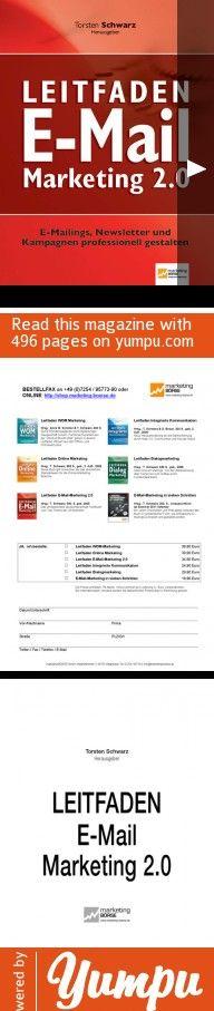 adRom E-Mail Marketing Leitfaden - Magazine with 496 pages: E-Mail Marketing Leitfaden. adRom Experten Bericht