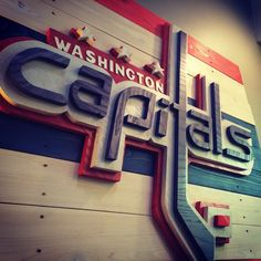 Washington Capitals Logo 3D wall hanging. by CraigMoodieDesigns on Etsy #hockey